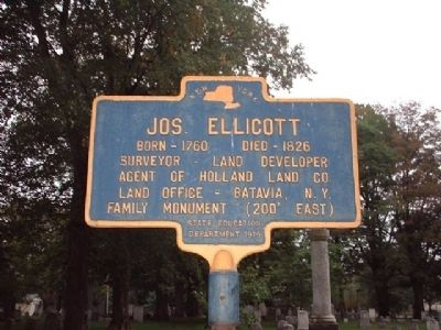 Jos. Ellicott Marker image. Click for full size.