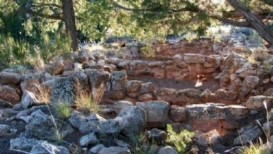 Tusayan Living Quarters Ruins image. Click for full size.