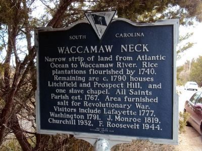 Waccamaw Neck Marker image. Click for full size.