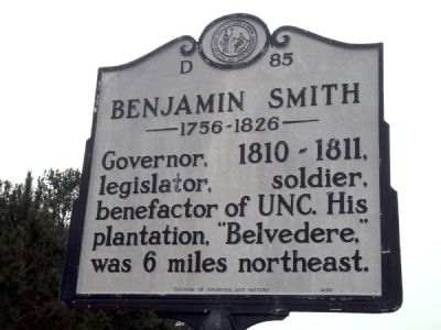 Benjamin Smith Marker image. Click for full size.