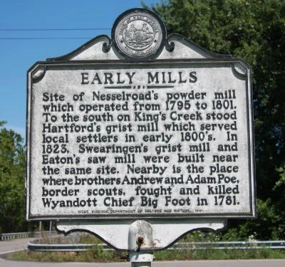 Early Mills Marker image. Click for full size.