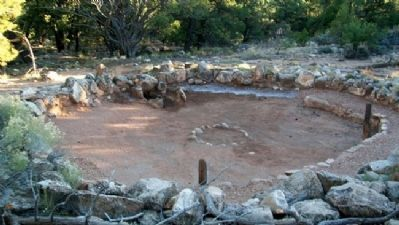 Large Kiva Ruin image. Click for full size.