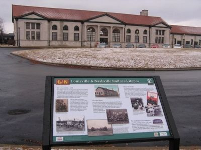 L&N Railroad Depot image. Click for full size.