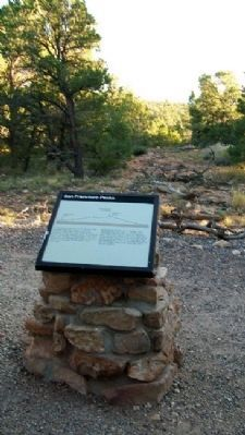 San Francisco Peaks Marker image. Click for full size.