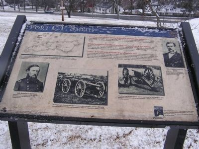 Fort C. F. Smith Marker image. Click for full size.