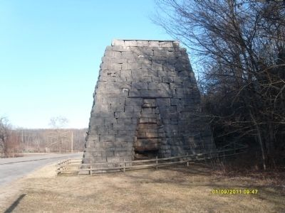 Great Western Furnace Marker Photo, Click for full size