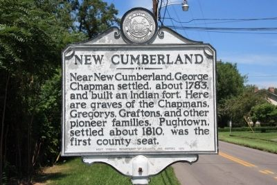 New Cumberland Marker Photo, Click for full size