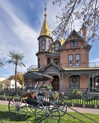 Rosson House, Phoenix AZ image. Click for full size.