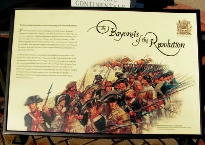 The Bayonets of the Revolution Marker image. Click for full size.