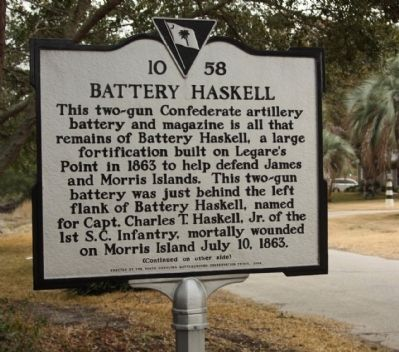 Battery Haskell Marker image. Click for full size.