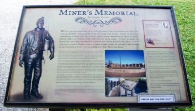 Miner's Memorial Marker image. Click for full size.