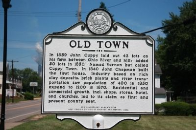 Old Town Marker image. Click for full size.