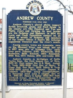 Andrew County Marker image. Click for full size.