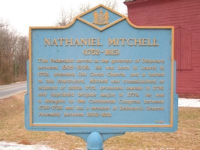 Nathaniel Mitchell Marker Photo, Click for full size
