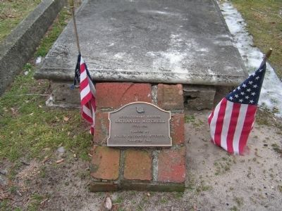 Nathaniel Mitchell Gravesite Marker 2 Photo, Click for full size