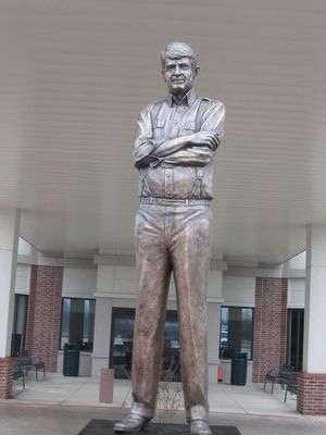 "Statue of Charles ""Charlie"" Wilson image. Click for full size."
