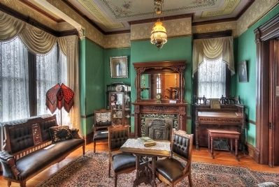 Living Room, Meeker Mansion image. Click for full size.