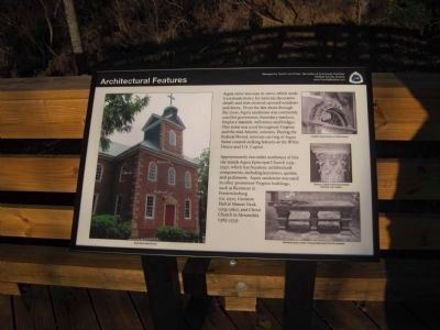 Architectural Features Marker image. Click for full size.