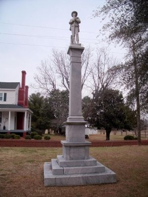 Sussex County Confederate Monument Photo, Click for full size