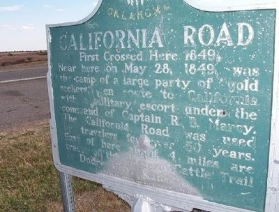 California Road Marker image. Click for full size.