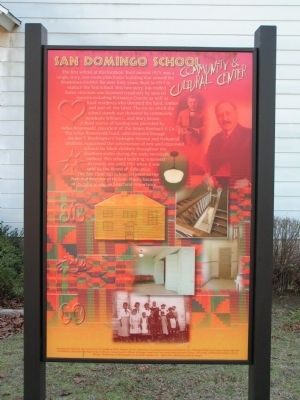 San Domingo School Community & Cultural Center Marker image. Click for full size.