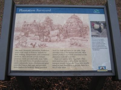 Plantation Barnyard Marker image. Click for full size.
