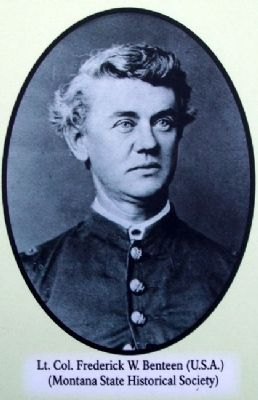 Frederick Benteen Photo on Marker image. Click for full size.