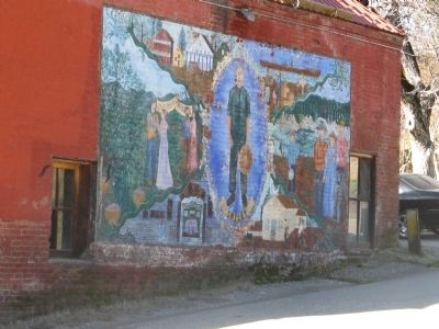 Mural on North Side of Building image. Click for full size.