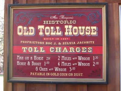 Sign at Entrance to the Western Town image. Click for full size.
