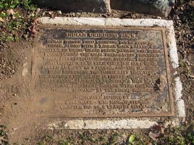 Indian Grinding Rock Marker image. Click for full size.