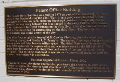 Palace Office Building Marker image. Click for full size.