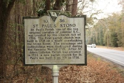 St. Paul's, Stono Photo, Click for full size