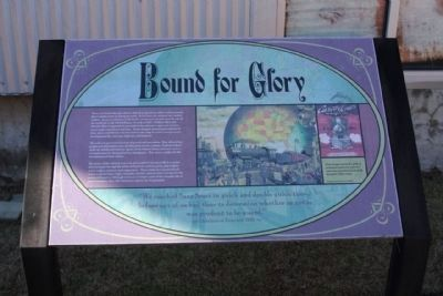 Bound For Glory Marker image. Click for full size.