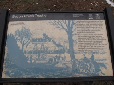 Bacon Creek Trestle Marker image. Click for full size.