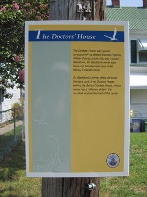 The Doctor's House Marker image. Click for full size.