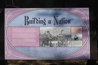 Building a Nation Marker image. Click for full size.