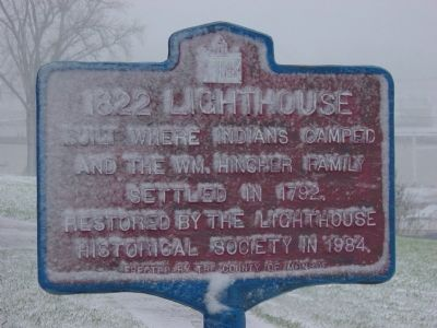 1822 Lighthouse Marker image. Click for full size.