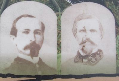 Munfordville's two Civil War Generals image. Click for full size.