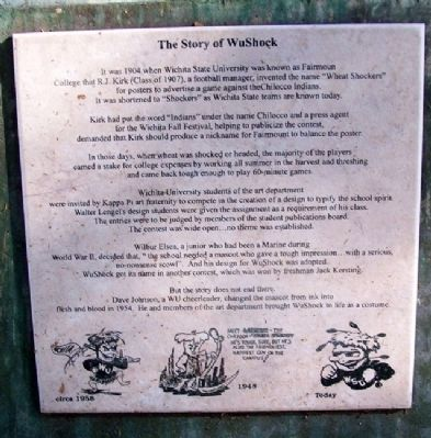 The Story of WuShock Marker image. Click for full size.