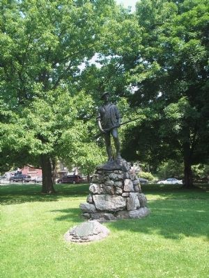 Marker in Newburgh, NY image. Click for full size.