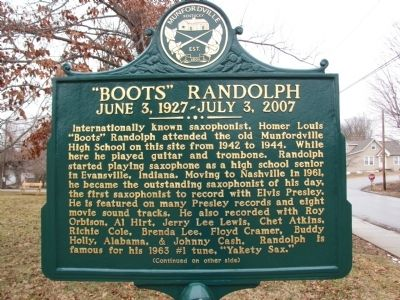 """Boots"" Randolph Marker image. Click for full size."