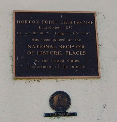 Horton Point Lighthouse Marker image. Click for full size.