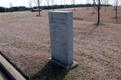 Theron J. Hendrix Memorial Highway Marker image. Click for full size.