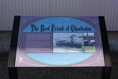The Best Friend of Charleston Marker image. Click for full size.