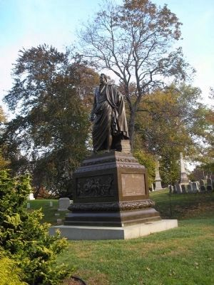 Governor DeWitt Clinton Monument image. Click for full size.