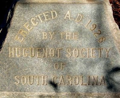 Site of Huguenot Church of Saint John's Berkeley Marker Photo, Click for full size