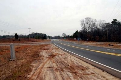Charles G. Garrett Interchange Marker -<br>Looking Southwest Along SC-418 image. Click for full size.