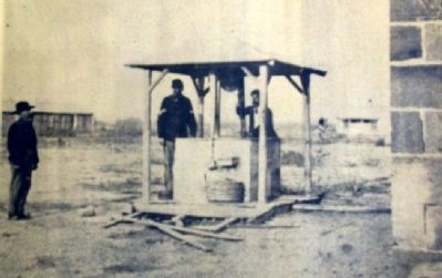Photo on Well, Adobe Hospital & Hospital Steward's Quarters Marker image. Click for full size.