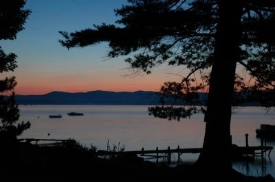 The Great Sacandaga Lake near Northville Photo, Click for full size