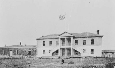 Old Monterey Jail and Colton Hall image. Click for full size.